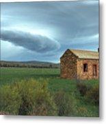 Storm Coming Metal Print