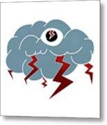 Storm Eye Metal Print