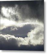 Storm Intensified Metal Print