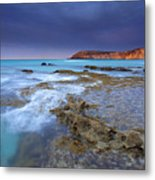 Storm Light Metal Print by Mike  Dawson