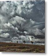Storm Morocco Metal Print