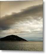 Storm Moving In Over Veli Osir Island In The Morning Metal Print