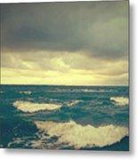 Storm On The Bay Metal Print