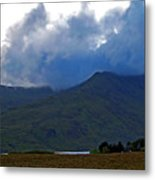 Storm On The Horizon In Connemara Metal Print