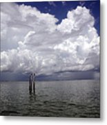 Storm On The Horizon Metal Print