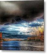 Storm On The Way Metal Print