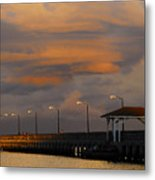 Storm Over Ballast Point Metal Print