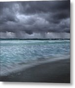 Storm Over Point Moore Metal Print