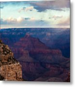 Storm Passes The Grand Canyon Metal Print