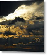 Storm Rolling In Metal Print