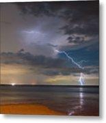 Storm Tension Metal Print