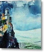 Storm The Castle Metal Print
