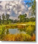Storm to the West Metal Print