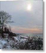 Storm Trilogy-one Harkness Memorial State Park Metal Print
