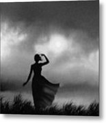 Storm Watcher Metal Print