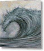 Storming The Beach Metal Print