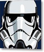Stormtrooper Metal Print by IKONOGRAPHI Art and Design