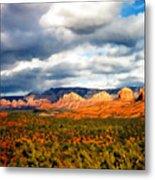 Stormwatch Arizona Metal Print