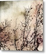 Stormy Autumn - Nature Art Metal Print