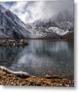 Stormy Convict Lake Metal Print