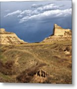Stormy Day At Mitchell Pass Metal Print