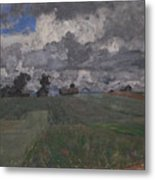 Stormy Day Metal Print