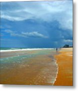Stormy Day Ormond Metal Print
