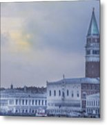 Stormy Evening In Venice Metal Print