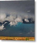 Stormy Horizon Metal Print