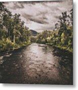 Stormy Streams Metal Print
