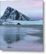 Storsandnes, Lofoten - Norway Metal Print