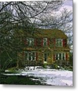 Storybook Cottage Metal Print