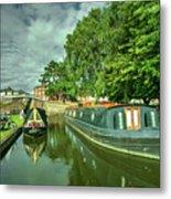 Stourport Narrowboats  Metal Print
