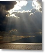 Strait Of Messina II Metal Print
