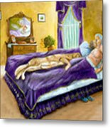 Strange Bedfellows Metal Print
