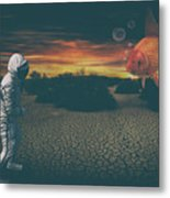 Strange Encounter Metal Print