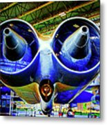 Strange Engines Metal Print