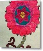 Strange Flower Metal Print