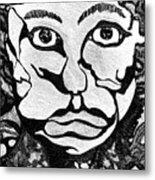Strange Man Metal Print