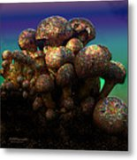 Strange Mushrooms 2 Metal Print