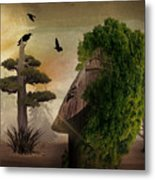 Stranger In The Forest Metal Print