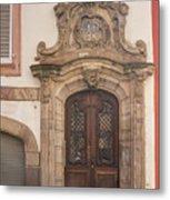 Strasbourg Door 09 Metal Print