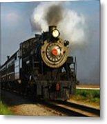 Strasburg Locomotive Metal Print