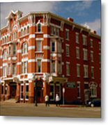 Strater Hotel 1887 Metal Print