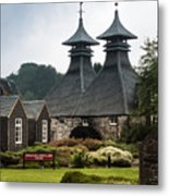 Strathisla Whisky Distillery Scotland Metal Print
