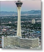 Stratosphere Casino Hotel And Tower Metal Print