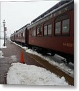 Strausburg Railroad Metal Print