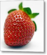 Strawberries 02 Metal Print
