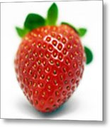 Strawberries 03 Metal Print