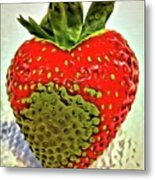 Strawberry Dreams Metal Print
